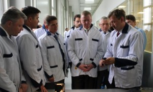 New Technopolis Gusev's Unique Manufacturing was highly appraised by ROSNANO's Anatoly Chubais