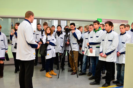 Technopolis GS starts a program of career guidance excursions for school students of Kaliningrad region